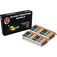 24 Pack B-Edition Ink Cartridges for CLI-251 PGI-250 PIXMA iP8720 MG6320 MG7120 MG7520 (4 of each color) by Blake Printing Supply