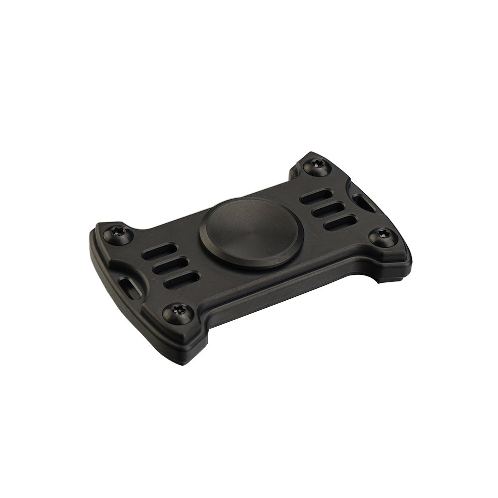 MecArmy GP1 Titanium Fidget Spinner EDC Spielzeug Premium Hand Spinner lindert Stress und Angst (Titanium schwarz)