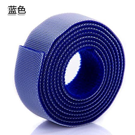 UWSZZ Corbata colorida cinta Velcro autoadhesiva equipo hub se ...