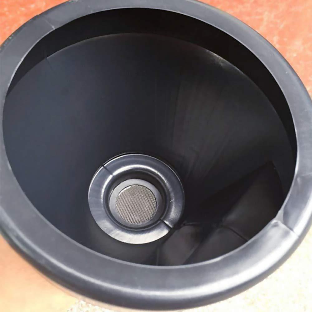 car Car Fuel Funnel Fuel Funnel with Handle Large Plastic Funnel Car Petrol Filter Funnel Flexible spout for motorcycle gasoline oil Bweele Filling Funnel Set