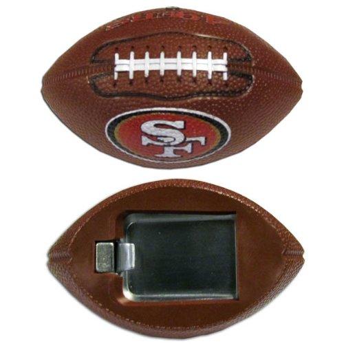 San Francisco 49ers Brown Football - NFL San Francisco 49ers Football Bottle Opener Magnet, 3-Inch, Brown