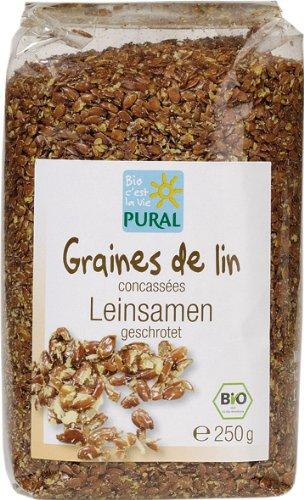 Pural Leinsamen geschrotet - 250 g Bio