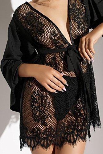 Nero di Donna Luna notte Camicia Lume da 0xCPYZq