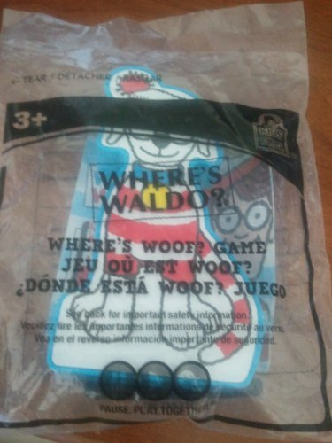 (Wendy's Kids Meal Toy Where's Waldo? Where's Woof?)