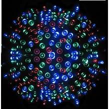 YTM(TM) 100 LEDs 17M Multi Coloured Solar Powered Fairy Light Waterproof -- Garden Lights Outdoor Party Lights