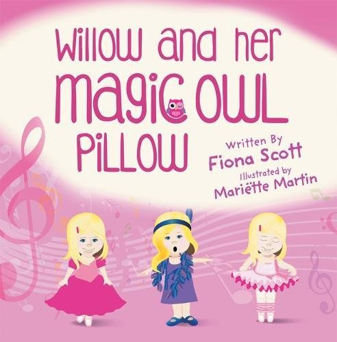 Willow and Her Magic Owl Pillow