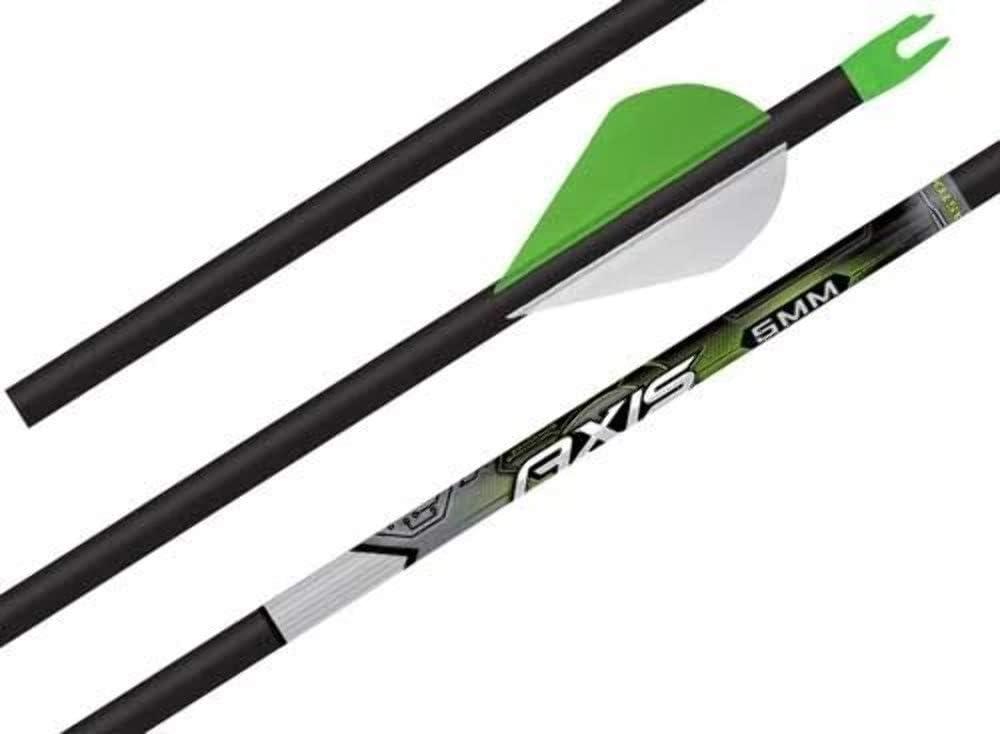 1 Dozen Easton 5MM AXIS 300 Arrow Shafts w//HIT Inserts