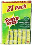 #3: Scotch-Brite Heavy Duty Scrub Sponge, 21-Count