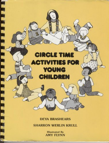 Circle Time Activities For Young Children,1987 11TH PRINT,PAPERBACK,PLASTIC COMB BINDING