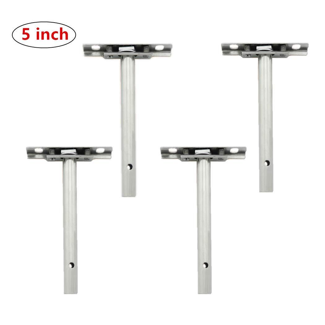 3Soportes invisibles de soporte de plataforma flotante oculta paquete de 4 montaje ciego para estante de pared DIY para el hogar