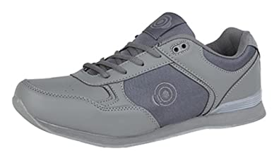 9418e3fa6aa Mens Flat Sole Lightweight Lace Up Bowls Shoes Bowling Trainers   Amazon.co.uk  Shoes   Bags