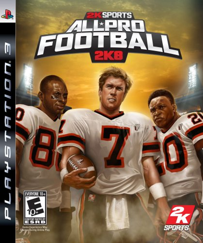 All Pro Football 2K8 - Playstation 3 (Best Ps3 Football Game)