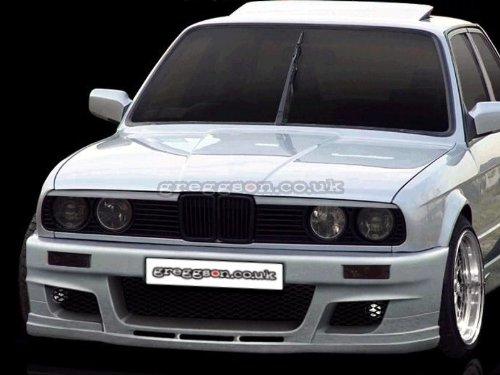 Front Bumper Spoiler FSTBMWE30-03 Front Bumper: