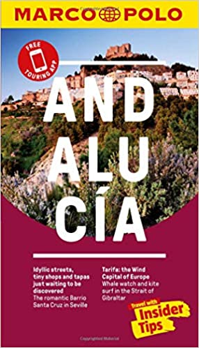 with pull out map Andalucia Marco Polo Pocket Travel Guide