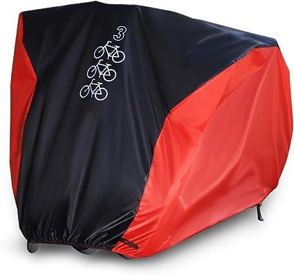 190T Fahrradabdeckung Wasserdicht Abdeckplane Fahrradgarage Regen UV Schutzhülle
