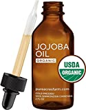 Pure Organic Jojoba Oil (2 Oz.) Best Quality Oil For Skin, Face,...