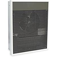 DAYTON 5E182 Commercial Wall Heater, Tamper Proof, Brnz