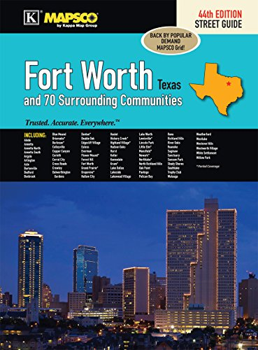 Fort Worth, TX Street Guide - Fort Worth Map