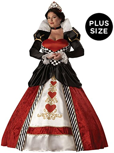 Queen of Hearts Adult Costume - Plus Size 2X]()
