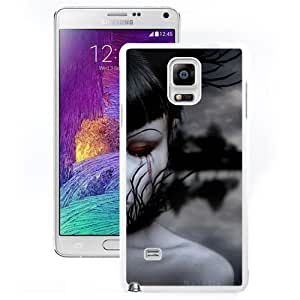 Beautiful And Unique Designed With Girl Person Half Grief (2) For Samsung Galaxy Note 4 N910A N910T N910P N910V N910R4 Phone Case