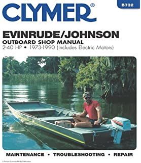 Johnson/Evinrude Outboards 1973-89 Repair Manual: Clarence W