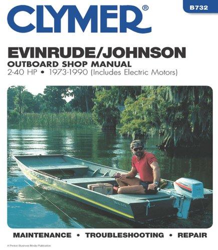 Evinrude/Johnson 2-40 HP OB 73-1990 (Clymer Marine Repair Series) ()