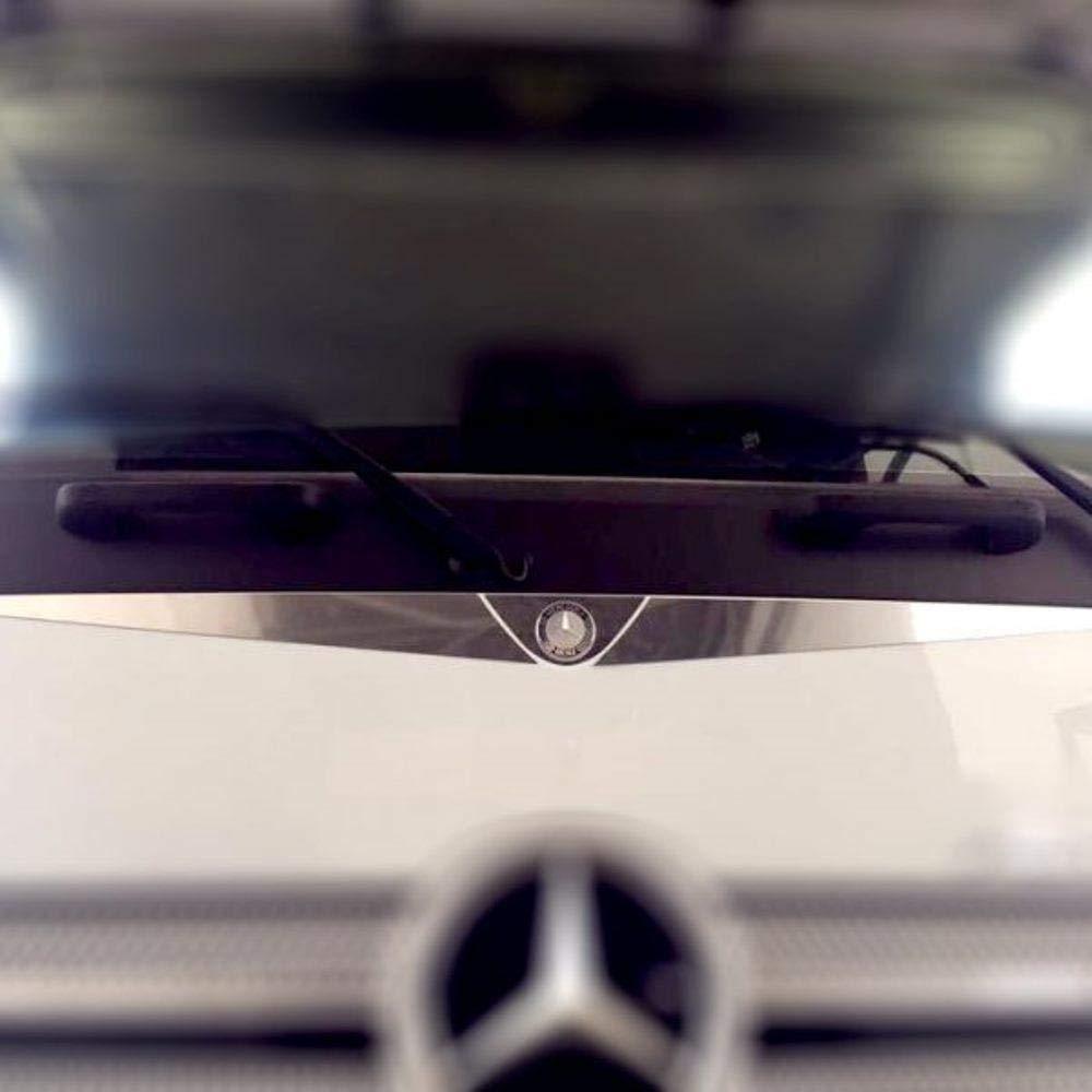 Truckdanet Accessoires en Acier Inoxydable pour Camion Mercedes s/érie Actros MP4 Profil sous Verre