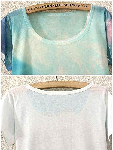 Wear YICHUN Blouse Tees 8 Tops Shirt Women T Tunic Printed Girls Thin Cami Shirt Multicolored Casual Leisure rrqO7