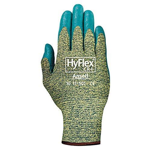 Ansell Hyflex Cr Glove - Ansell 11-501-8 HyFlex CR+ Gloves, Size 8 (Pack of 12)