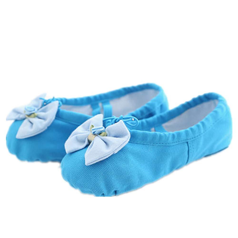 Dance Girls Dansoft Full Sole Ballet Slipper//Shoes Dancing Yoga Shoes