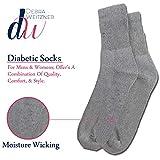 Debra Weitzner Diabetic Crew Socks Mens Womens