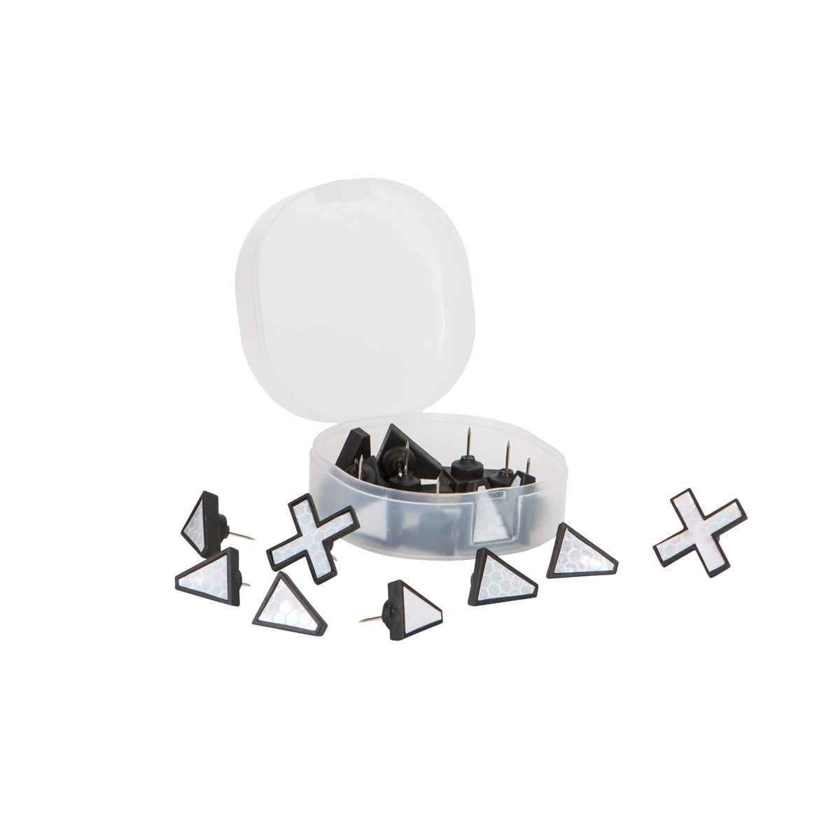 Allen Company X Marks The Spot Trail Tacks (Pack of 20), Black 478