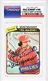 Mike Schmidt Philadelphia Phillies Autographed 1980 Topps #270 Card with 1980 WS MVP Inscription - Fanatics Authentic Certified