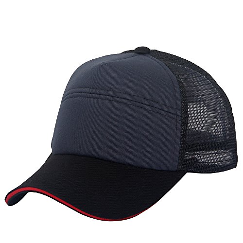 oriental spring - Gorra de béisbol - para hombre Navy-Red Sandwich