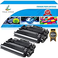 True Image 2Pack 87A 9,000 Pages Compatible for HP 87A CF287A 87X M506dn M506n M506x Toner Cartridge, HP LaserJet Enterprise M506 M506dn M506n M506x, Laserjet MFP M527 M527f M527dn, Pro M501dn Printer