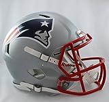 New England Patriots Riddell Full Size Speed Deluxe Replica Football Helmet - New in Riddell Box
