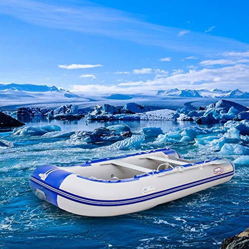HYYQG Inflatable Kayak Accessories,Sea Fishing Kayak Aluminum Alloy Paddle Air Pump Kit Bottom Plate Bag 2 Person