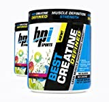 BPI Sports Best Creatine Defined Lean Muscle Hardening Agent, 40 Servings Each (2 Pack) (Sour Candy)