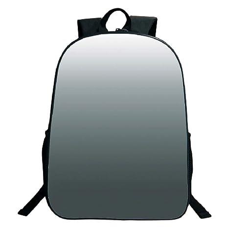 087ad92dfc80 Amazon.com: 3D Print Design Black School Bag,backpacksOmbre,Smoke ...