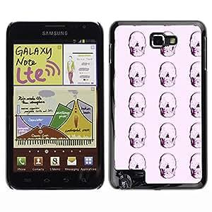 ZECASE Funda Carcasa Tapa Case Cover Para Samsung Galaxy Note I9220 No.0002021
