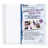 Bulk Buy: Darice DIY Crafts Memory Book Refill Pages 12 x 12 inches 5 pieces (10-Pack) 1201-54