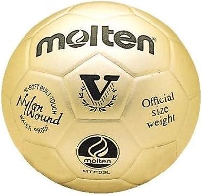 MOLTEN Gold - Balón de fútbol, Color Dorado: Amazon.es: Deportes y ...