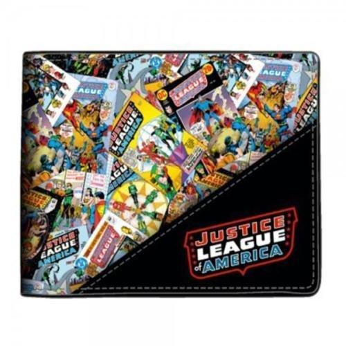 DC Comics Justice League of America Bifold Faux Leather - Dc Wallet Comics