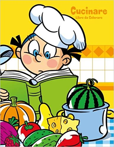 Buy Cucinare Libro Da Colorare: Volume 1 Book Online at Low ...