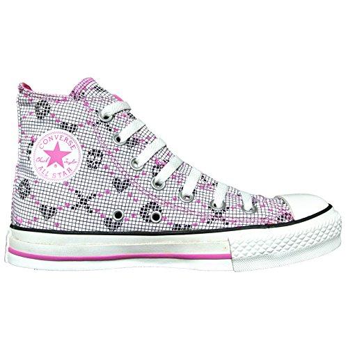 Converse Allstar Schuhe Klauwplaten 5,5 Eu 38,5 Schedel Witte Limited Edition 505.736