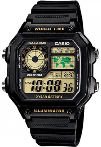 Casio Classic Black Watch AE1200WH-1B by Casio