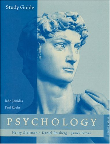Study Guide: for Psychology, Seventh Edition