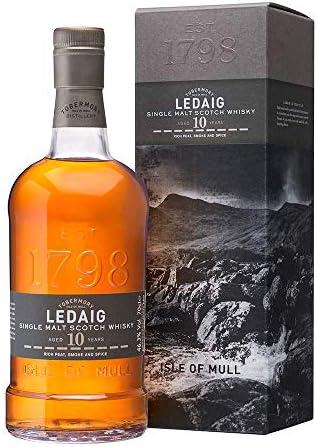 Ledaig Ledaig 10 Years Old Rich Peat Single Malt Scotch Whisky 46,3% Vol. 0,7L In Giftbox - 700 ml