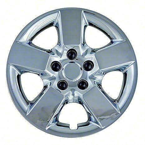 Fundas para ruedas de aftermarket; 16 inch; Acabado cromado; ABS; 5 radios;: Amazon.es: Coche y moto