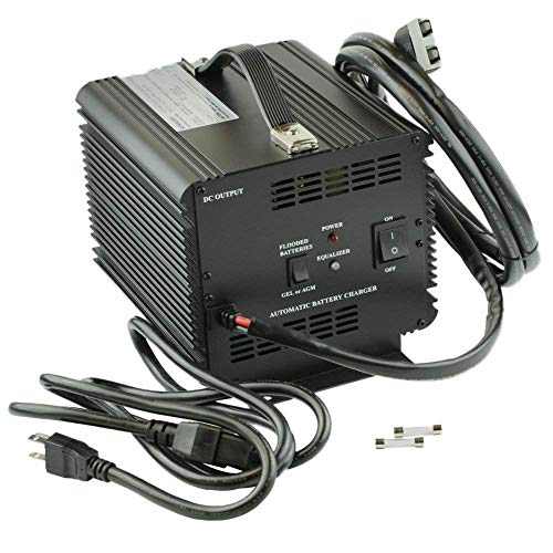 15a Output - JAC1548H - Schauer Battery Chargers, Battery Charger, Stationary, 120/240 VAC Input, 48 VDC Output, 15A Charge Rate -